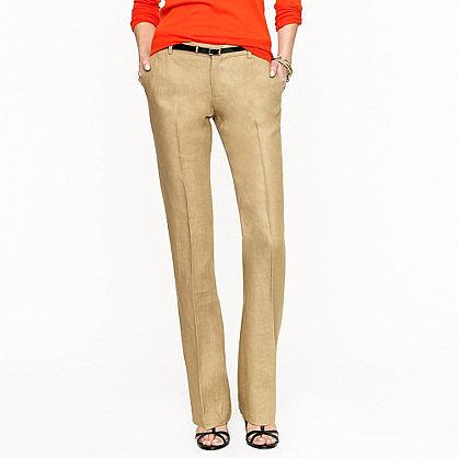 Collection women's Ludlow trouser in Irish linen