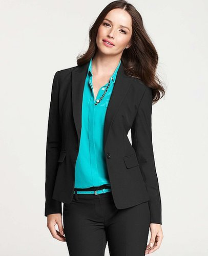 Tall All-Season Stretch One Button Jacket