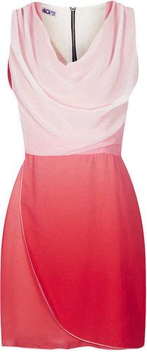 **Tie Dye Cowl Neck Dress by W