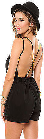 The best of both worlds — this Reverse open-back romper ($48) supplies the comfort of shorts with the sexier appeal of a dress.