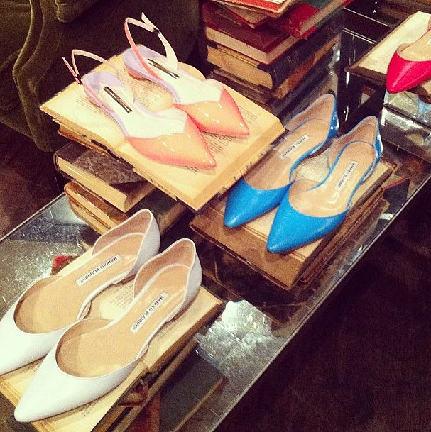 As if you needed any more proof that flats can be just as fashionable as heels.