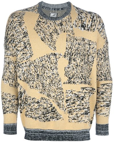 Anntian printed sweater