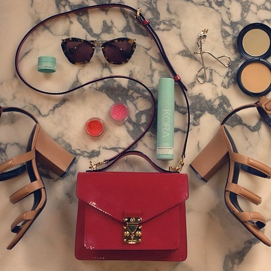 Miranda Kerr gave us a peek of her accessories and a few of her beauty essentials, too. Source: Instagram user mirandakerr