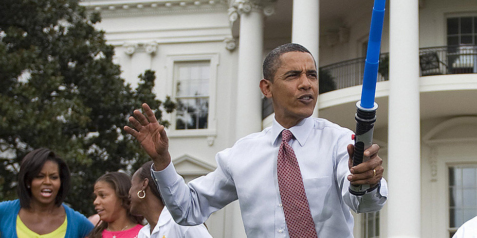 2013: The Year the White House Geeked Out With Star Wars