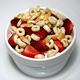Strawberries With O's and Cashews