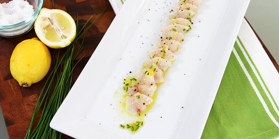 Halibut Crudo Is Easy, Elegant, and Summer-Friendly