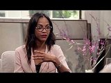 Zoe Saldana Candid Interview on The Conversation