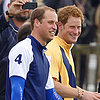 Prince William Plays Polo During Royal Baby Watch