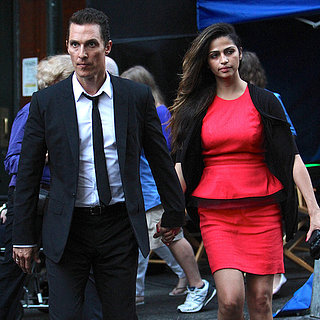 Scarlett Johansson and Matthew McConaughey Filming | Photos