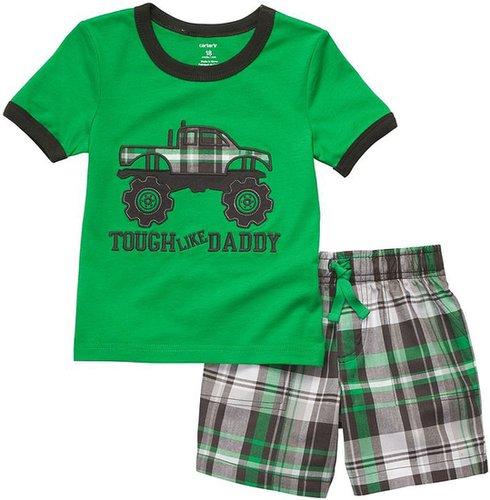 Carter's Toddler Woven Knit Set