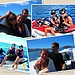 Nina Dobrev and her friends got in on some water skiing action.