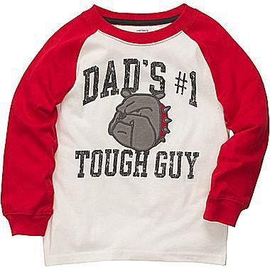Carter's® Long- Sleeve Tough Guy Raglan Tee - Boys 2t-4t