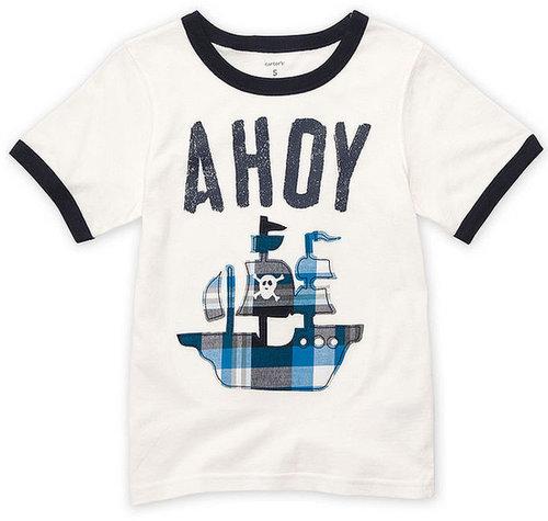 Carter's Kids T-Shirt, Little Boys Ahoy Tee