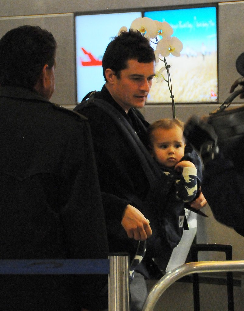 Orlando and Flynn departed from LAX in April 2012.