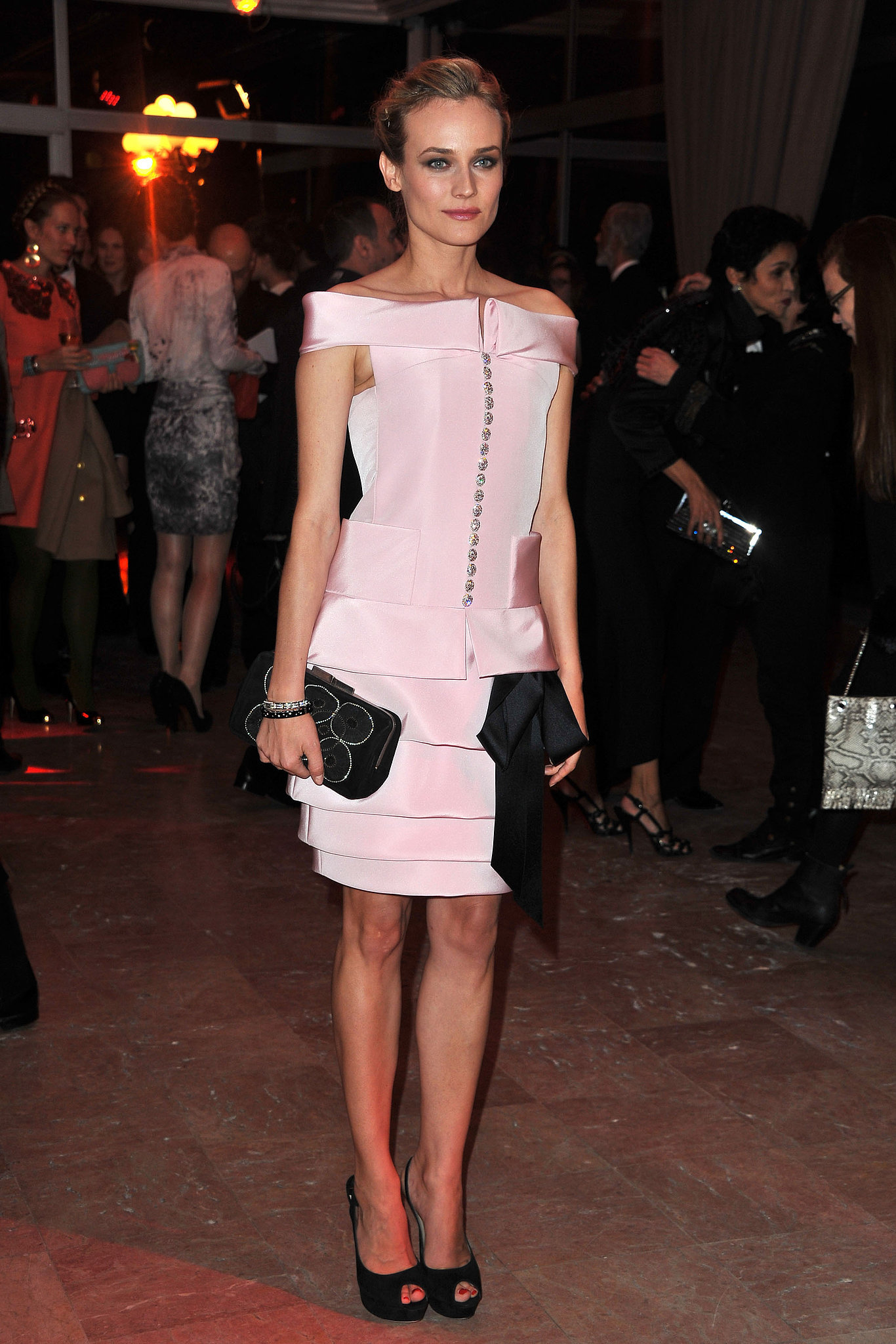 We loved spotting Diane in this prim Chanel number for the Sidaction Gala Dinner in 2011.