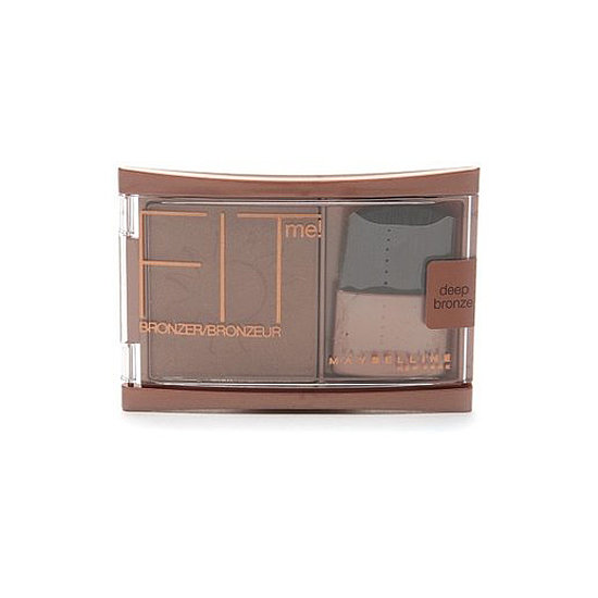 Maybelline Fit Me Bronzer Pressed Powder ($6) blends to your skin tone, giving you a look that's 100 percent natural.