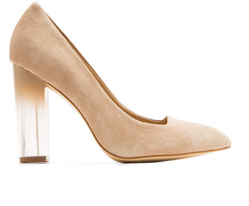TOUCH - Suede pump