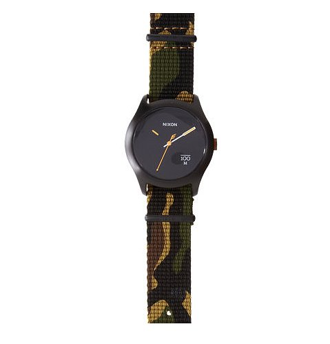 Take the trend for a test drive with this Nixon The Quad Surplus watch ($125).
