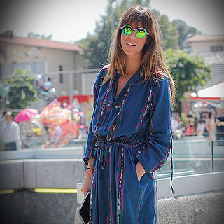 How to Wear a Denim Dress | Video