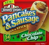 Jimmy Dean Chocolate Chip Pancakes & Sausage on a Stick