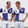 Prince William and Prince Harry Playing Polo Photos