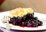 Biscuit Blueberry Cobbler