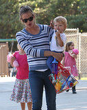 Jennifer Garner Has the World's Cutest Playdate With Her Kids