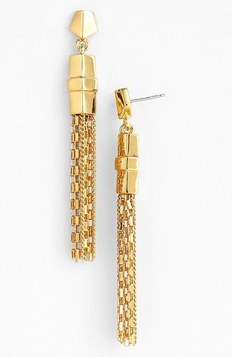 Vince Camuto Chain Tassel Earrings