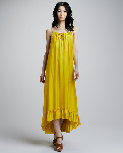 Alice by Temperley Allegro Ruffle-Hem Maxi Dress