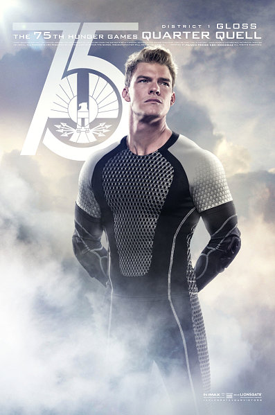 Alan Ritchson stars as Gloss, a District 1 victor.