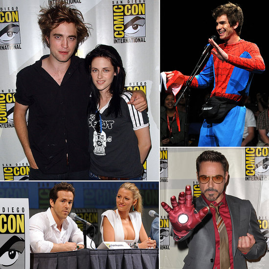 See Rob, Kristen, Andrew and More at Comic-Cons Past!