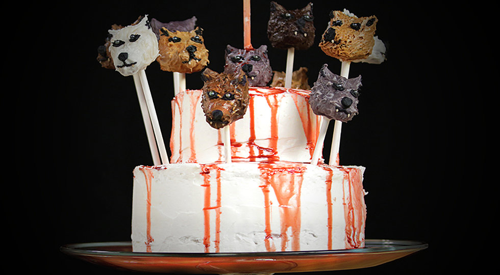 Direwolf Cake Pops to Die For