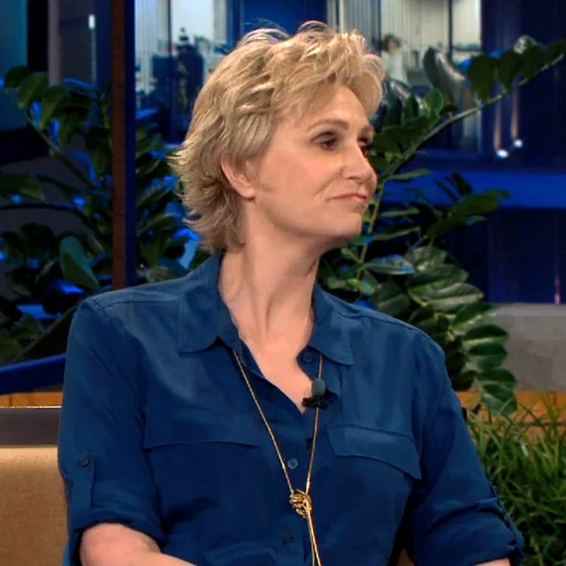 Jane Lynch Talking About Cory Monteith on The Tonight Show