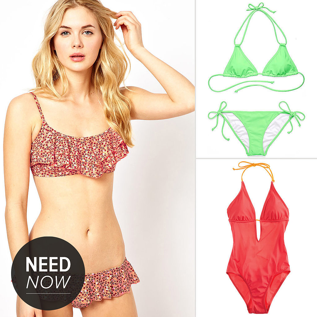 Need Now: Affordable Swimsuits Just in Time For Memorial Day