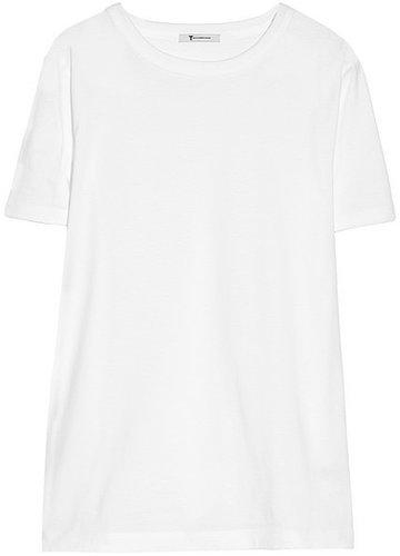 T by Alexander Wang Supima cotton-jersey T-shirt
