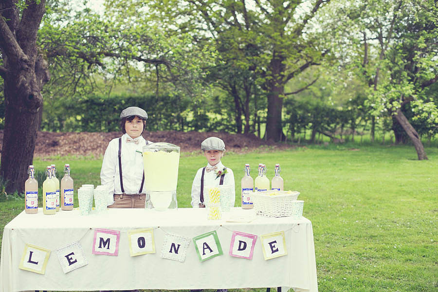 Ring Bearers in Dapper Caps