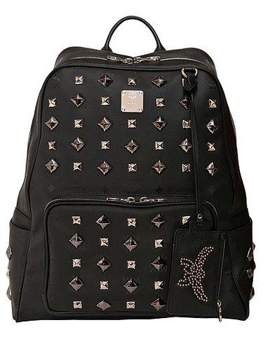 Medium Studded Zipper Backpack