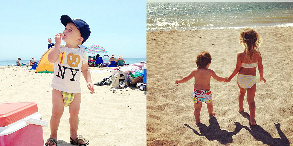 Instagram Challenge: Surf's Up For Your Adorable Beach Babies!