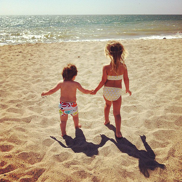 Sibling love Source: Instagram user estella_max_leos_mommy