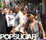 Beyoncé grabbed lunch with her family in Toronto.
