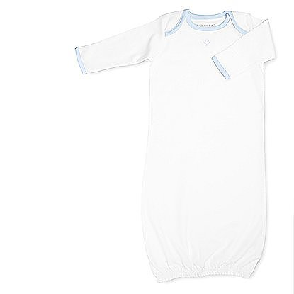 Burt's Bees Baby's pima cotton line takes layette to new levels of luxe. The Monogrammable Bee Luxe Gown ($29) can be monogrammed or left as is with its sweet embroidered bee detailing.