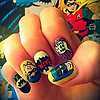 Superhero Nail Art | Comic-Con 2013