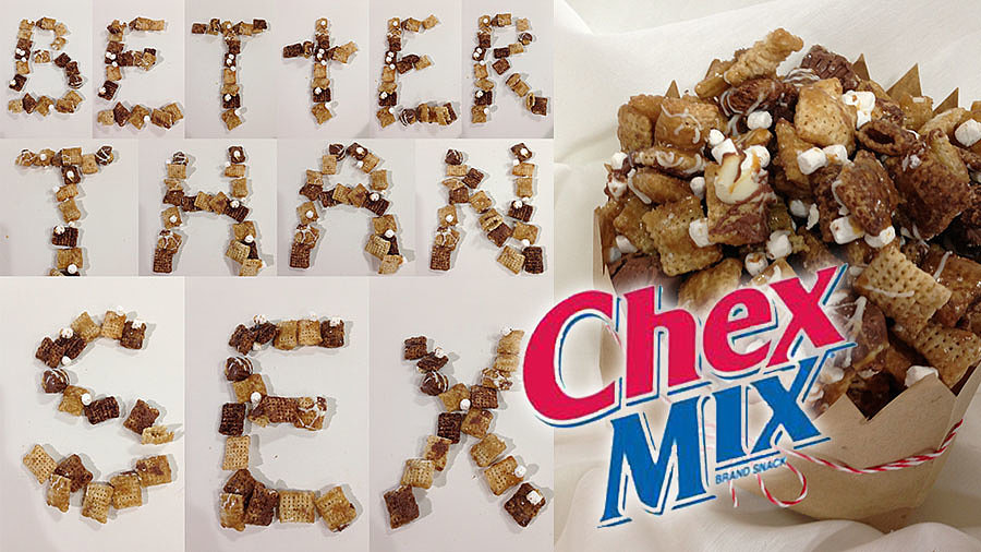 Make Your Own: Chocolatey Chex Mix