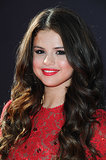 For her turn on the 2013 ESPY Awards red carpet, Selena kept things in the same color family. She wore a red dress, crimson lips, and a coordinating blush.