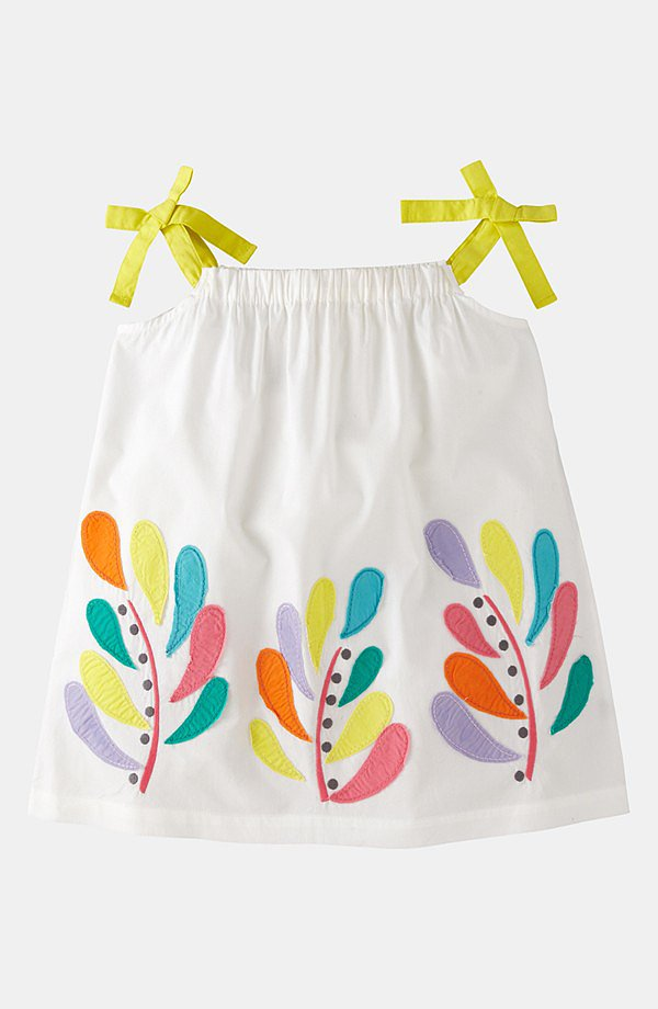 Mini Boden Appliqué Color Pop Top