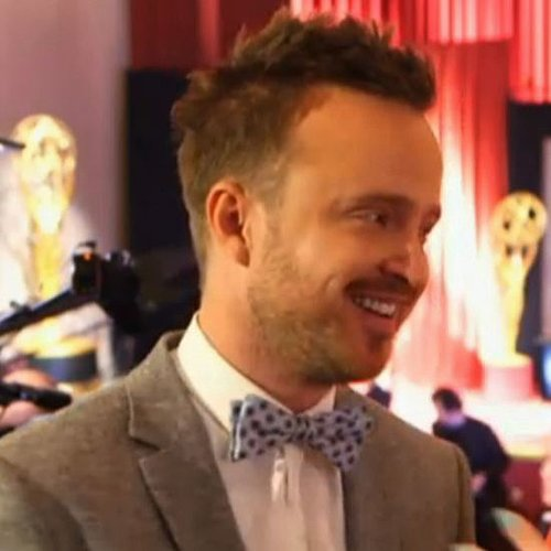 Aaron Paul Interview at 2013 Emmy Nominations (Video)