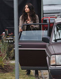 Jenna Dewan stepped out of a car.