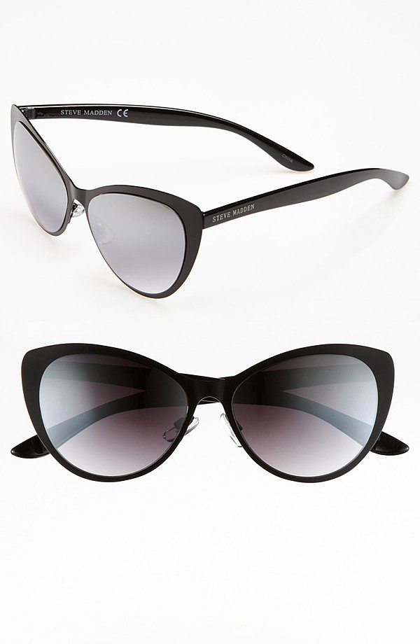 Subdued cat eyes from Steve Madden ($38) make a smart addition to any girl's collection.