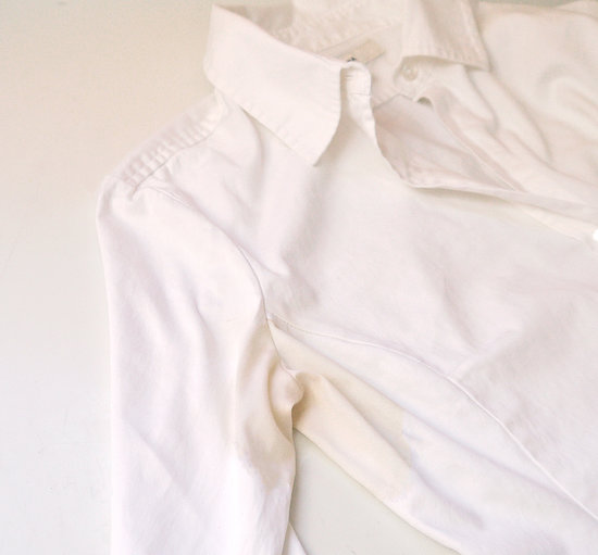 How to remove sweat stains popsugar smart living for How to prevent sweat stains on shirts