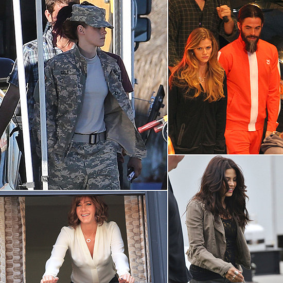 Kristen Stewart, Jennifer Aniston, Chris Pine, and More Stars on the Set